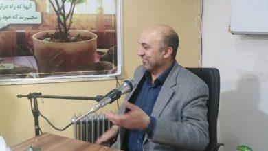 تصویر از حضور استاد معماریانی در موسسه شمیم لیله القدر